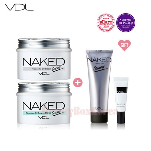 VDL Naked Cleansing Oil Cream Set [Monthly Limited - August 2018]